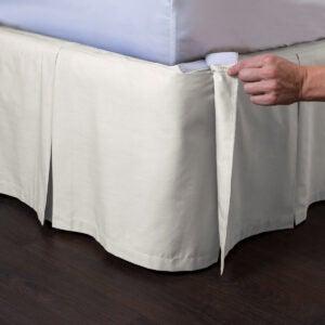 Best Bed Skirt Options: ShopBedding Ashton Detachable Bedskirt