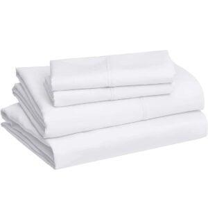 Best Bedding Options: AmazonBasics Lightweight Super Soft Easy Care Microfiber Sheet