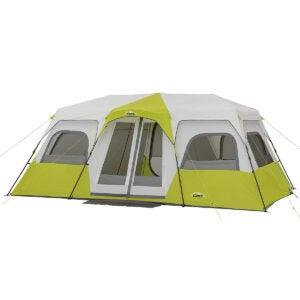 最佳露营帐篷选项:CORE 12人即时小屋帐篷