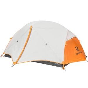 最佳露营帐篷选择:羽毛石2人背包帐篷