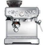 最佳卡布奇诺制造商选项:Breville Bes870xl Barista Express浓缩咖啡机