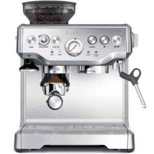 Best Cappuccino Maker Options: Breville BES870XL Barista Express Espresso Machine