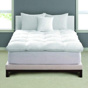 Best Cooling Mattress Topper Options: Pacific Coast Feather Luxe Loft Baffle Box Feather Bed