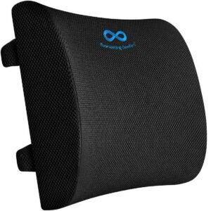 最佳办公桌配件选择:持久舒适腰枕