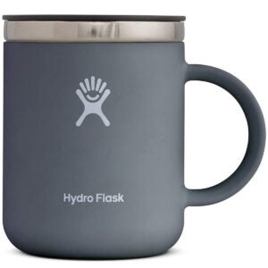 Best Desk Accessories Options: Hydro Flask 12 Oz Coffee Mug Stone, 1 EA