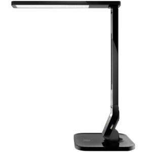 Best Desk Accessories Options: TaoTronics LED Desk Lamp with USB Charging Port