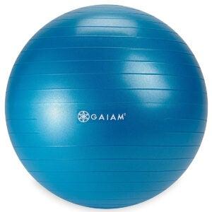 最佳运动球选项:Gaiam Kids平衡球 - 锻炼稳定性瑜伽球