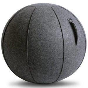 最佳运动球选项:Vivora Luno  - 坐在办公室的球椅