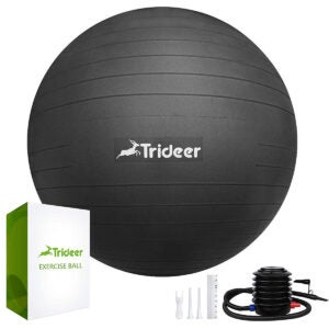 Best Exercise Ball Options: mTrideer Exercise Ball (45-85cm) Extra Thick Yoga Ballain