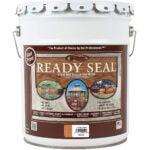最佳栅栏油漆选项:准备好密封512 5-gallon pail天然雪松