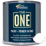 Best Fence Paint Options: The ONE Paint - White - 1 Liter