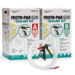 Best Garage Door Insulation Kit Options: FROTH-PAK 620 Sealant