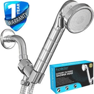 Best Handheld Shower Head Options: PureAction Luxury Filtered Shower Head