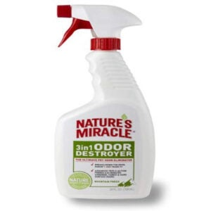 Best Pet Stain Remover Options: Nature's Miracle 3 in 1 Odor Destroyers