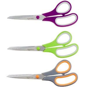 Best Scissors Options: AmazonBasics Multipurpose, Comfort Grip