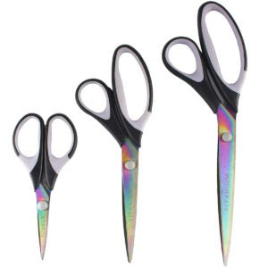 Best Scissors Options: Titanium Softgrip Scissors Set for Sewing