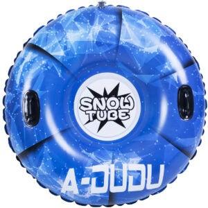 最好的雪橇选项:A-Dudu雪管 - 超大47英寸充气雪橇