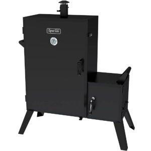 Best Smoker Options: Dyna-Glo DGO1890BDC-D Wide Body Vertical Offset Charcoal Smoker
