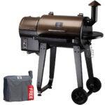 The Best Smoker Options: Z GRILLS ZPG-450A 2020 Upgrade Wood Pellet Grill & Smoker