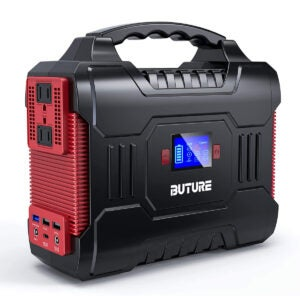 Best Solar Generator Options: 300W Portable Power Station (350W Peak)