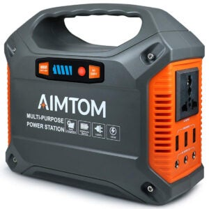 Best Solar Generator Options: AIMTOM 42000mAh 155Wh Power Station