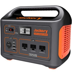 Best Solar Generator Options: Jackery Portable Power Station Explorer 1000