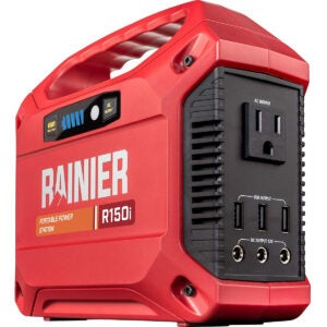 Best Solar Generator Options: Rainier Outdoor Power Equipment R150i