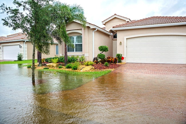 Home in FEMA flooding zone