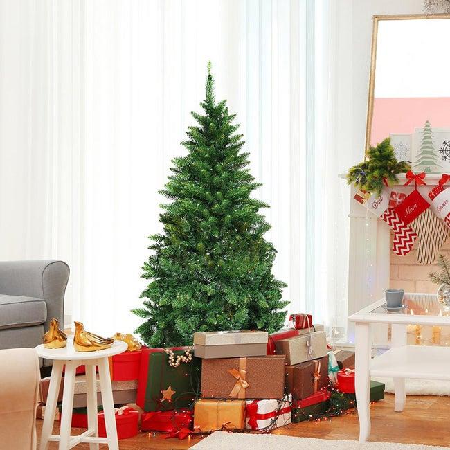 home depot half christmas tree