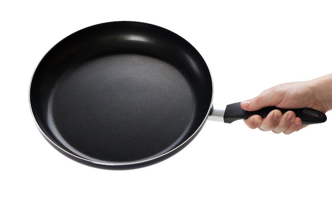 Nonstick pan care