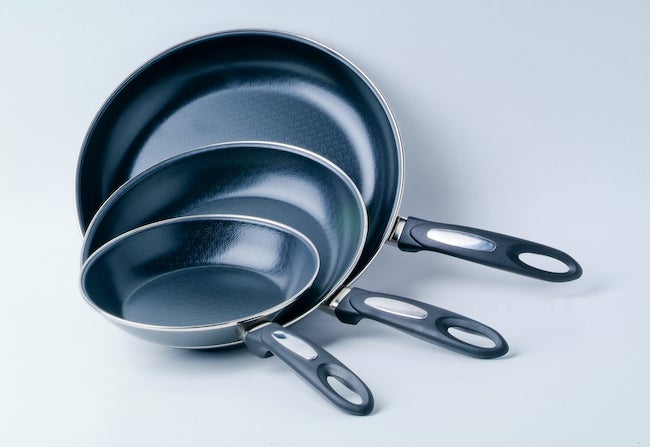 nonstick pan stacking storage