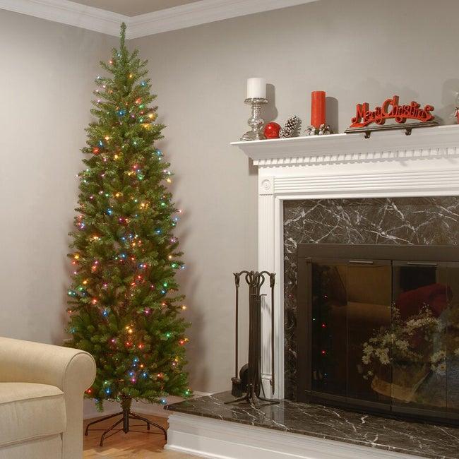 wayfair pre lit half christmas tree
