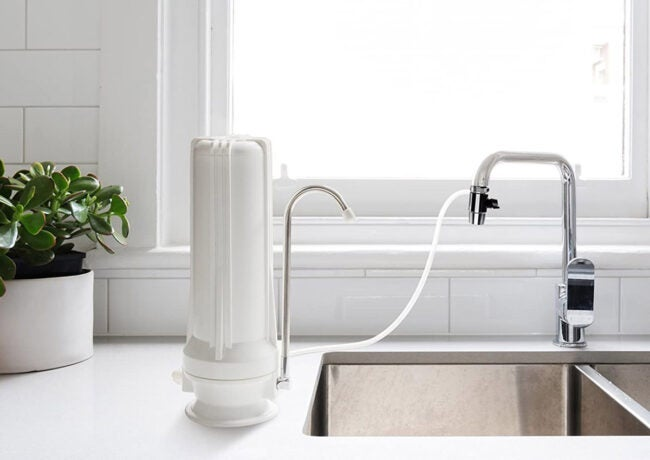 The Best Countertop Water Filter Options