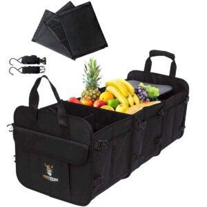 最佳干线组织者选项:Tuff Viking敞篷车大型行李箱组织者