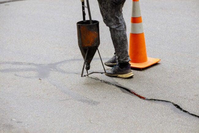 The Best Asphalt Driveway Crack Filler