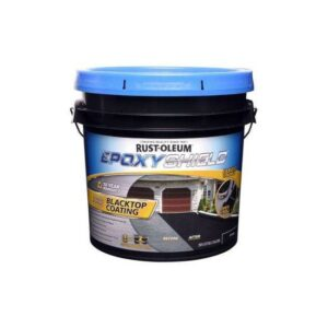 The Best Asphalt Driveway Crack Filler Option: Rust-Oleum 2-Gallon Blacktop Coating Resurfacer