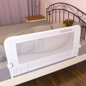 The Best Bed Rails For Kids Option: KOOLDOO Toddlers Safety Bed Rail