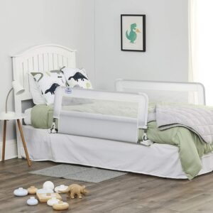 The Best Bed Rails For Kids Option: Regalo HideAway Double Sided Bed Rail Guard
