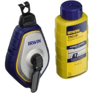 The Best Chalk Line Option: Irwin Strait-Line 1932887 Speedline Pro Chalk Reel
