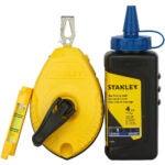 The Best Chalk Line Option: Stanley 47-443 3-Piece Chalk Box Set