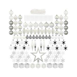 最好的圣诞树Toppers选项:Itart 129ct圣诞树装饰品包括拓盖
