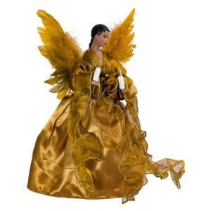 最好的圣诞树拓扑选择:Kurt Adler African Amanian Angel Treetop小雕像
