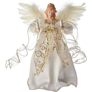 The Best Christmas Tree Toppers Option: Kurt Adler Illuminated Angel Treetop