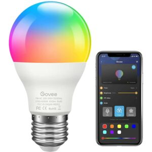 The Best Color Changing Light Bulb Option: Govee LED RGB Color Changing Light Bulb