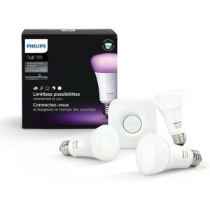 The Best Color Changing Light Bulb Option: Philips Hue White and Color Ambiance LED Smart Bulb