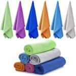 最佳冷却毛巾选择:爱拉乌6包冷却毛巾