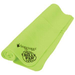 最佳冷却毛巾选择:青蛙TOGGS冷垫冷却毛巾