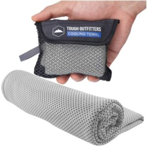 最佳冷却毛巾选择:坚硬的户外冷却毛巾