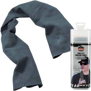 最佳冷却毛巾选择:Ergodyne冷却它的冷却毛巾