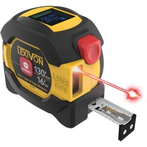 The Best Digital Tape Measure Option: LEXIVON 2-in-1 Digital Laser Tape Measure